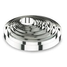 Lacor  Cercle à mousse | Cercle à mousse en inox 18/10 - hauteur 4,5cm - diamètr