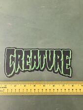creature skateboard sticker/decal