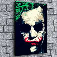 Heath Ledger Joker Painting HD Print on Canvas Home Decor Room Wall Art Picture
