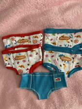 American Girl Bitty Twins//Baby Training Pants /& Diaper Set new Underwear for dol