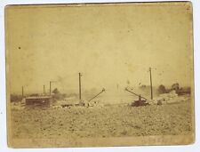 Warrensburg Missouri stone quarry cabinet photograph Wheeldon Pickel 1890s