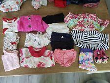 Baby Girl Clothes Outfit Lot Bundle Carters, BabyGap, Calvin Klein,