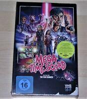 Mega Time Squad Limitata Retrò Edizione Im VHS Look blu ray + DVD+CD Nuovo Ovp