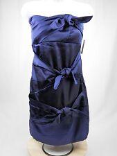 Ruby Rox Blue Strapless Semi Formal Mini Dress Juniors 11 prom cocktail party
