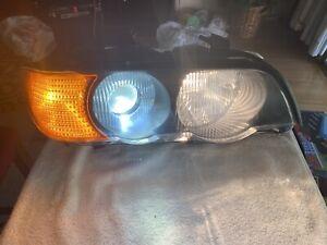 01 BMW X5 PASSENGER RIGHT Headlamp See original OEM #15183400