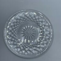 "Vintage Waterford Crystal 6"" Dessert Bread Butter Plate"