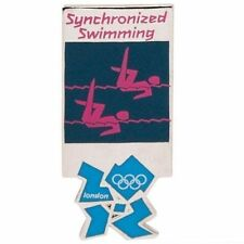 London 2012 Olympics Pictogram Synchronized Swimming Pin