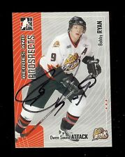 BOBBY RYAN Senators 2005 ITG Hockey Heroes and Prospects - SIGNED AUTOGRAPH RC