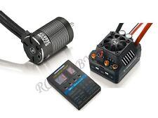 Hobbywing EZRUN 3660 G2 3200KV Motor MAX10 120A LED Card Combo for 1:10 RC Car