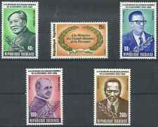 Timbres Personnages Togo 993/4 PA431/2 ** lot 27022
