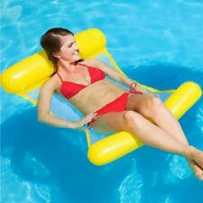 "lovebay Swimming Inflatable Pool Lounger Float 51"" x 29"" (yellow)"
