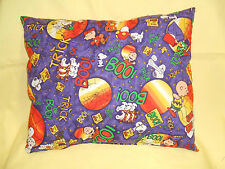 "Snoopy-Charlie-Lucy, "" Peanuts Gang"" Pillow,  ""Trick or Treat Nite""  11"" x 13"""