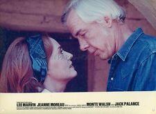 LEE MARVIN  JEANNE MOREAU MONTE WALSH 1970 VINTAGE LOBBY CARD #1