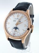 Jaeger LeCoultre Master Calendar 39mm 1552520  Watch 18k Rose Gold