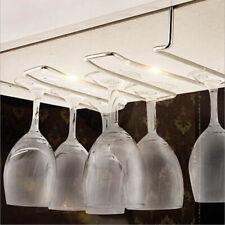 1 Wine Glass Stemware Storage Rack Holder Drying Hanger Organizer/Under Cabinet