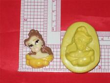 Princess Belle Silicone Mold A618 Acrylic Resin Candy Wax Fondant Chocolate Soap