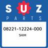 08221-12224-000 Suzuki Shim 0822112224000, New Genuine OEM Part