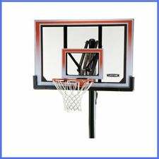 Adjustable Basketball Hoop Shatter Proof Outdoor Ground Portable Polycarbonate