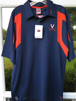 Nike Team Fit Dry Virginia Cavaliers Football Coaches Polo Shirt Small NWT NEW