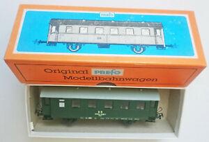 H0 Prefo-Personenwaggon aus DDR-Produktion; 2achser Bi 33 DR, unbenutzt in OVP