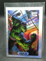 1994 marvel masterpieces silver holofoil Hulk #4 of 10