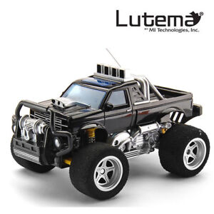 Lutema Big Shocker 4CH Remote Control Truck - Black