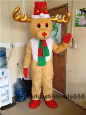 Christmas Reindeer Mascot Costume Adults Size advertising festival party dress