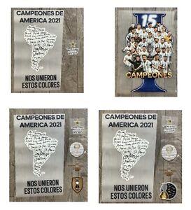 2021 Argentina  Copa America CELEBRATION Shirt Decals/Big Patch 15th Times Winne