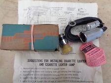 NOS 1937 1952 Chevy CIGARETTE LIGHTER UNIT w/ LIGHT Original Chevrolet Accessory