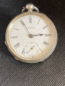 AWW Waltham 7 Jewel Pocket watch, 131 years old and still keeping good time.