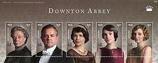 Palau 2014 MNH Downton Abbey Dowager Countess Grantham Crawley 5v M/S II Stamps