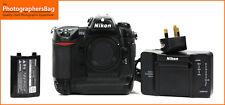 Nikon D2X FOTOCAMERA REFLEX DIGITALE CORPO & Batteria, Caricabatterie spedizione gratuita nel Regno Unito