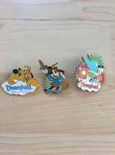 Disney Mickey Through Years The Brave Little Tailor Pin Pluto Tinkerbell EUC