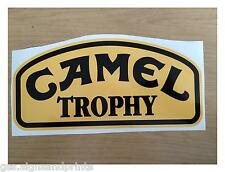 X2 280X140MM LAND ROVER CAMEL TROPHY DEFENDER DISCOVERY STICKER 4X4 DECAL