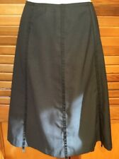 All Occasion dark grey ribbon detail Panel A Line Skirt Sz S
