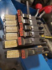 lot 2 FPE Federal pacific NC120 20amp circuit breaker NC 20 type stab lok Thin
