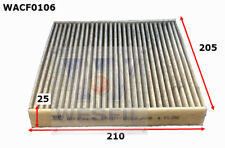 WESFIL CABIN FILTER FOR Honda Jazz 1.3L 2013-on WACF0106