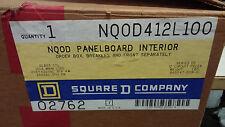 SQUARE D NQ0D412L100 PANELBOARD INTERIOR NIB 100A ML 120/208 240V 12 SPACE #A29C
