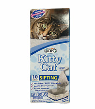 """Kitty Cat Alfapet Sifting Pan Liners 10 Count Extra Giant Size 40"""" x 38""""   New"""
