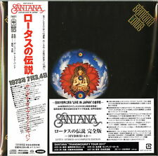 Santana-Lotus-Japan 3 17.8cm Mini LP Sacd Hybrid Ltd / Édition U00