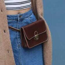 Women PU Leather Fanny Pack Waist Pack Leisure Belt Bag Phone Bag Wallet