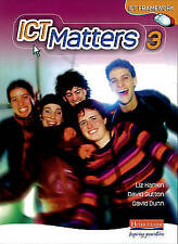 ICT Matters 3 Pupil Book Desk Edition (ICT Matters) by Hankin, Ms Liz, Sutton,