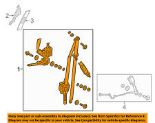 HONDA OEM 15-16 Fit Front Seat-Belt & Buckle Retractor Left 04818T5RA00ZA
