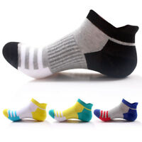 4 Pairs Men's Low Cut Ankle Socks Soft Cotton Breathable Socks Sport Casual Sock