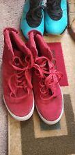 Used Supra skytop Red/black Size 12