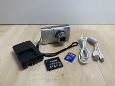 Canon PowerShot A4000 IS 16.0MP Digital Camera CHARGER CABLE SD CARD WORKING