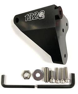 1320 Performance Billet Brake Master Cylinder Brace - Black Fits 2015 WRX / STi