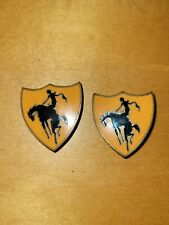 (2)Ww2 Us Army(?) Unknown Unit Crests, Di, Dui made by N S Meyer Pb