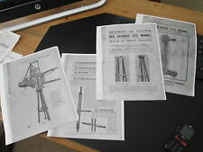 Ideal Steel Windmill Directions for Erecting