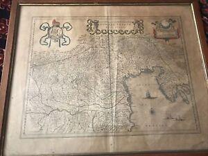 Carta Geografica dominio veneto nell'italia - mappa del Veneto e dell'Istria